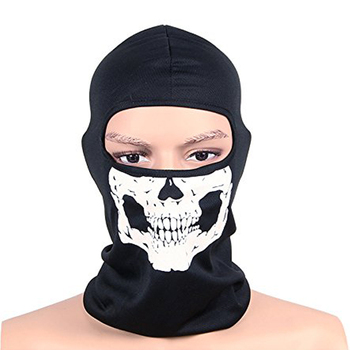 CS Ghost Biker Skull Hood Mask 1