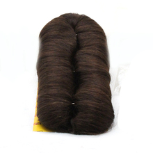 DLME 28 Pieces Double Weft Bump Straight Hair Weaving Extension With Synthetic Short Heat Resisiatant Free Delivery