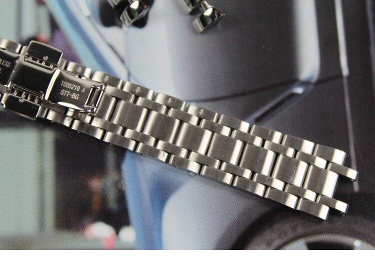18mm T035210A T035207 Nuevas piezas de reloj Correa de pulsera de - Accesorios para relojes - foto 4