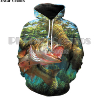New Fashion Sweatshirt Men / Women 3d Hoodies Print animal fish grass carp pattern Slim Unisex Slim Stylish Hooded Hoodies