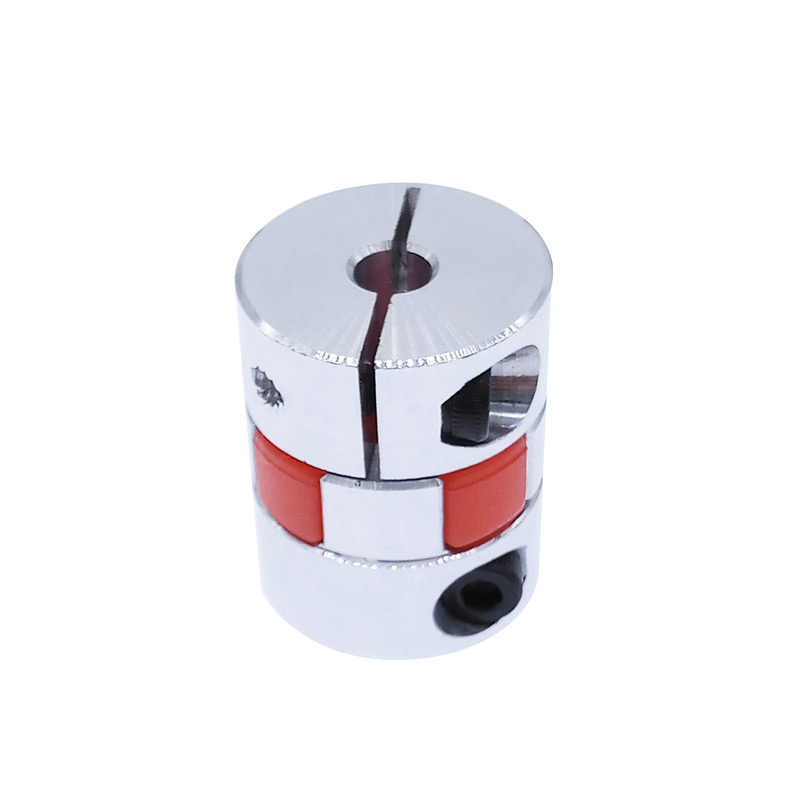 Acoplamento flexível de alumínio 5x8mm 3mm 4mm 5mm 6mm 6.35mm 7mm 10mm acoplador flexível do motor da aranha d20l25