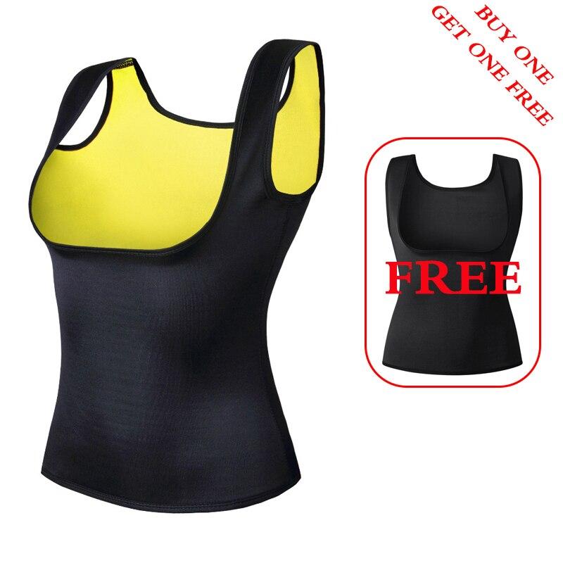 2 stücke frauen Taille Trainer Neopren Abnehmen Weste Taille Trainer Körper Shaper für Gewicht Verlust Shapewear Neopren Körper Shaper