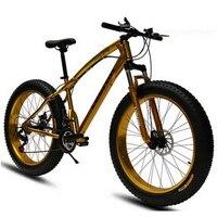 240604/20/24/26 дюймов внедорожных демпфирования Новый горный велосипед/скорость/большие шины широкий шины 4,0 Снег велосипед/Эргономичный ручной