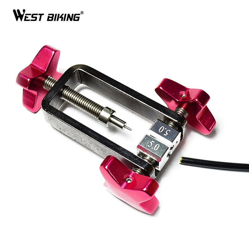 WEST BIKING Cycling Bike Needle Driver Fitting Inserting Tool AVID SRAM Bicycle Brake Hydraulic Hose Needle Driver Press in Tool велосипедные тормоза sram avid sram 1 e1 db1 sram avid elixir 1 e1