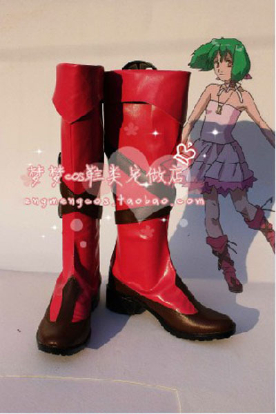 New Cheap Wholesale/Retail Macross Frontier Ranka Le Cosplay Boots Shoes Designer For Halloween