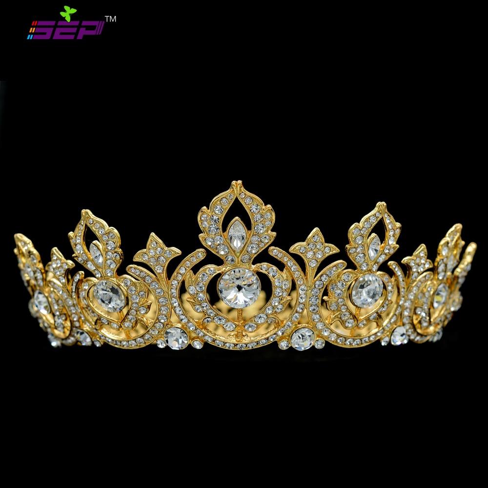 High Quality Flower Tiaras And Crowns Head Austrian