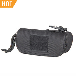 Free Shipping E.T Dragon Portable Sun Glasses Eyewear Carry Case Pouch Military Molle 1000D Nylon Shockproof Waterproof PP6-0100