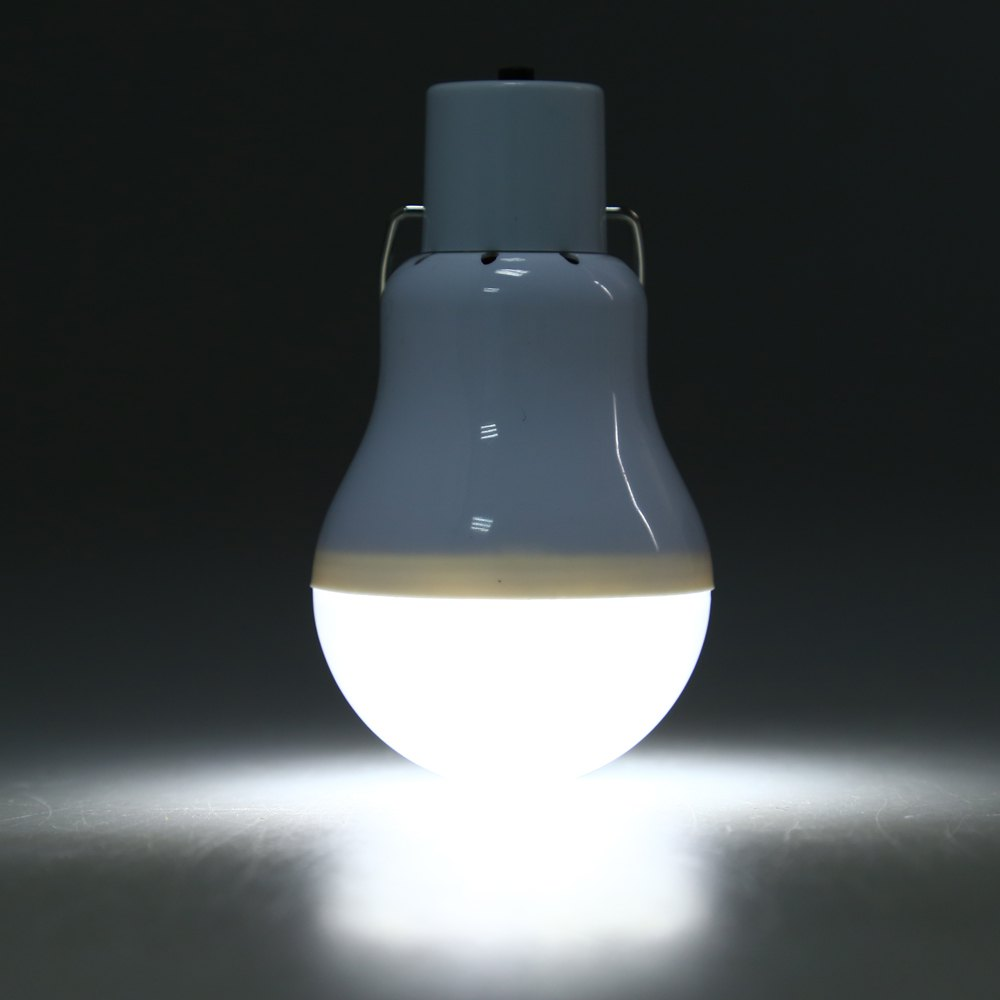 Hot 15w Solar Powered Portable Led Bulb Lamp Solenergi Camping lampa - Utomhusbelysning - Foto 4