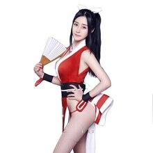 Cosplay Uniform Dress Fighters KOF Mai Shiranui The-King Kimono Halloween-Costumes Sexy