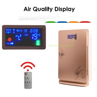 Household Smart Air Purifier Remove Formaldehyde Smoke PM2.5 Remote Control Air Cleaner Air Quality Monitoring Freshener