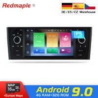 IPS Dello Schermo di Android 9.0 GPS Autoradio Multimediale di Navigazione Stereo Per Fiat grande punto Linea 2006-2012 DVD WIFI bluetooth
