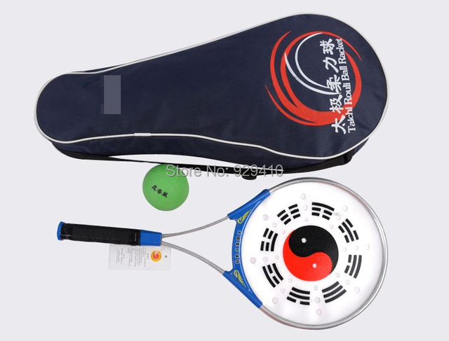 Tai chi Taiji мягкая мощная ракетка для мяча тайчи Софтбол боевое искусство представление 3 шт./компл.