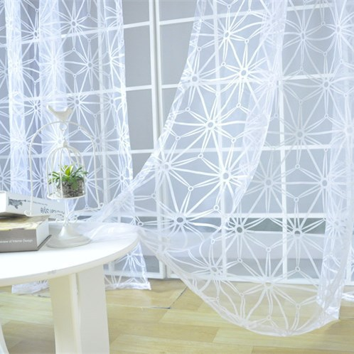 Online Buy Wholesale white organza curtains from China white ...