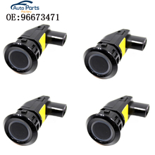 4 PCS 96673471 96673467 Parking Sensors For Chevrolet Captiva Parking Assistance Ultrasonic Sensor original ultrasonic sensors usdk 30d9003 s14