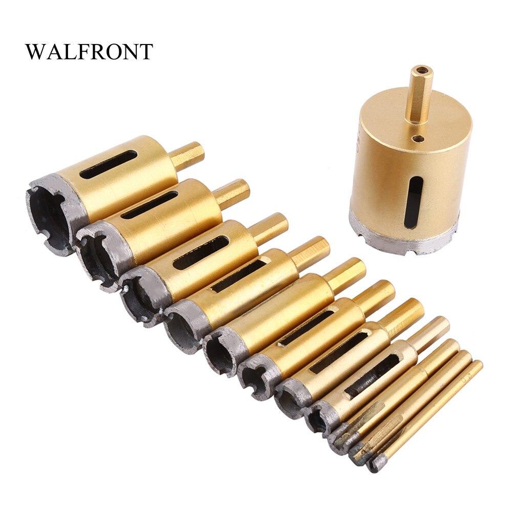 WALFRONT 6 50mm Diamant Bohrer Core Lochsäge Cutter Holz Metall ...