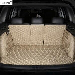 Image 3 - פלאש מחצלת עור רכב תא מטען מחצלות עבור BMW e30 e34 e36 e39 e46 e60 e90 f10 f30 x1 x3 x4 x5 x6 1/2/3/4/5/6/7 רכב מטענים ריפוד