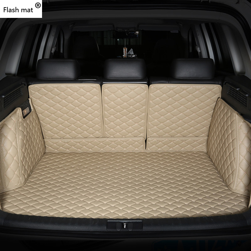 Flash Mat Leather Car Trunk Mats For Hover H1 H2 H3 H5 H6 H8 H9 M1 M2 M4 Car Accessories Car Styling Cargo Liner
