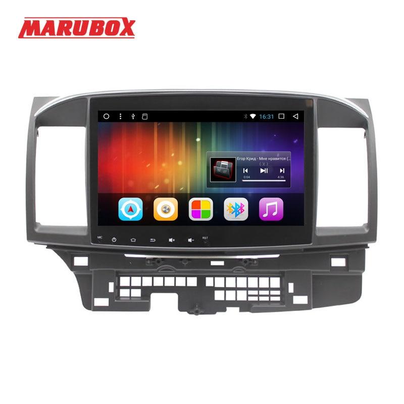 все цены на MARUBOX One Din 10 Inch Android 7.1 Head Unit For Mitsubishi Lancer 2006-2015 Stereo Radio GPS Navi Car Multimedia Player 716DT3 онлайн