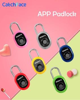 Second Generation Smart Padlock Waterproof Electronic Intelligent Padlock Keyless Safety Anti-Theft Padlock For Luggage Case