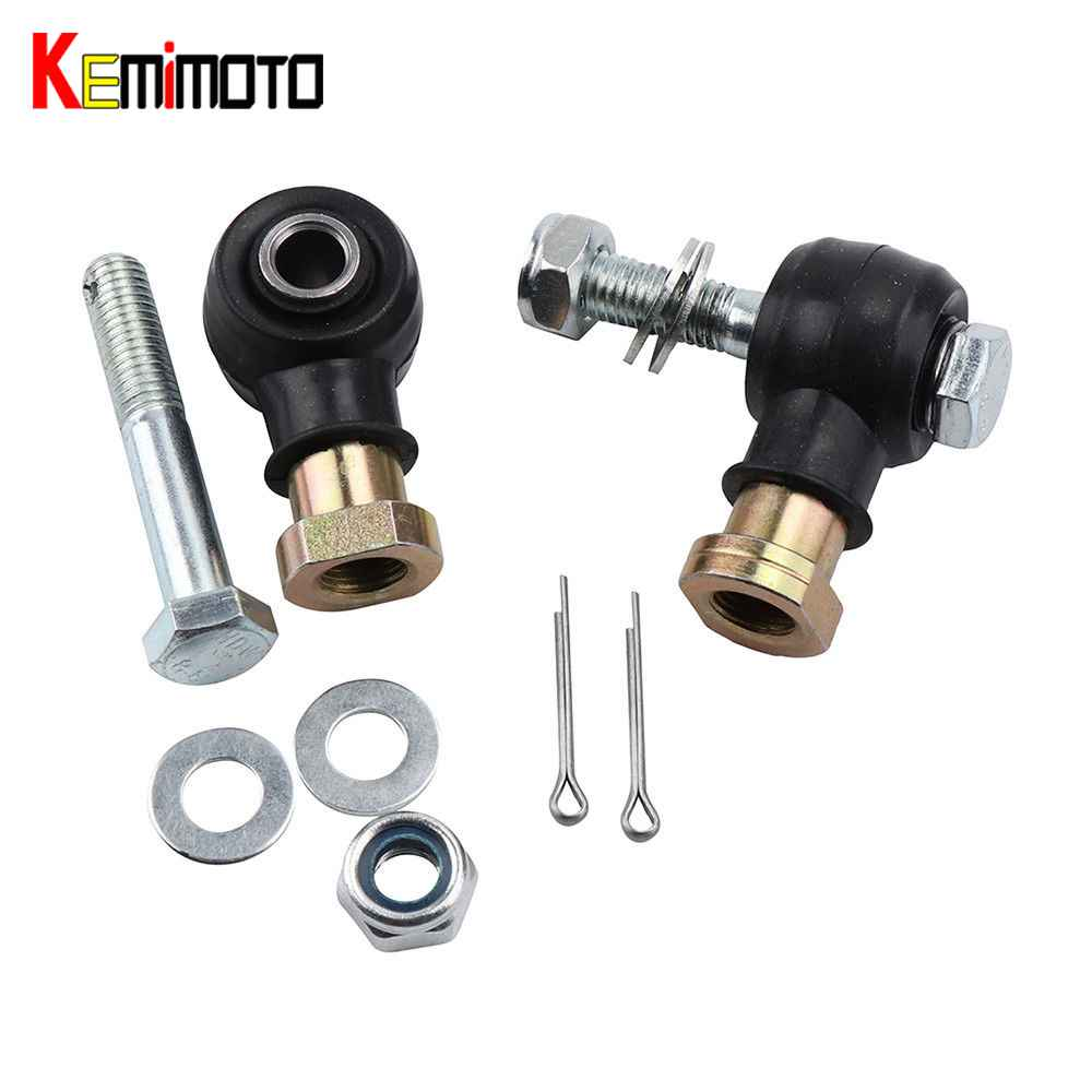 KEMiMOTO 1 Set Tie Rod Link Left Right Of Tie Rod End & Bolt Kit For POLARIS RZR 800 & S Outer Joint SPORTSMAN 500 4x4 EFI HO