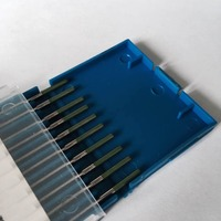 2016 Factory Direct Sale WP Pure Tungsten TIG Welding Tungsten Electrode 2 0mm 150mm 10pcs Free