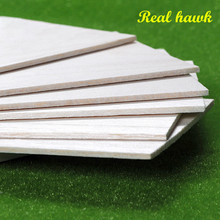 1000x100x1 1 5 2 2 5 3 4 5mm AAA Model Balsa wood sheets for DIY