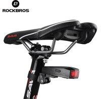 ROCKBROSป้องกันการโจรกรรมจักรยานจักรยานแสงสมาร์ทไฟท้ายสัญญาณกันขโมยการควบคุมระยะไกลเซ็นเซอ...