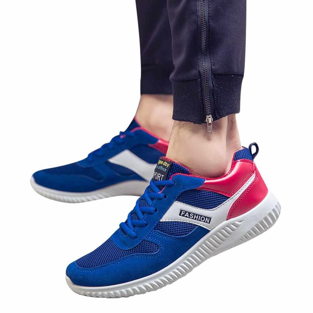 cf884c819eb YOUYEDIAN Vintage dad Men shoes 2018 kanye fashion west mesh light  breathable men casual shoes men