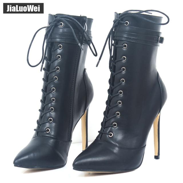 Jialuowei Marke 12 Neue Mode Frauen Stiefel 12 Marke cm High Heels Sexy ... 04bc8b