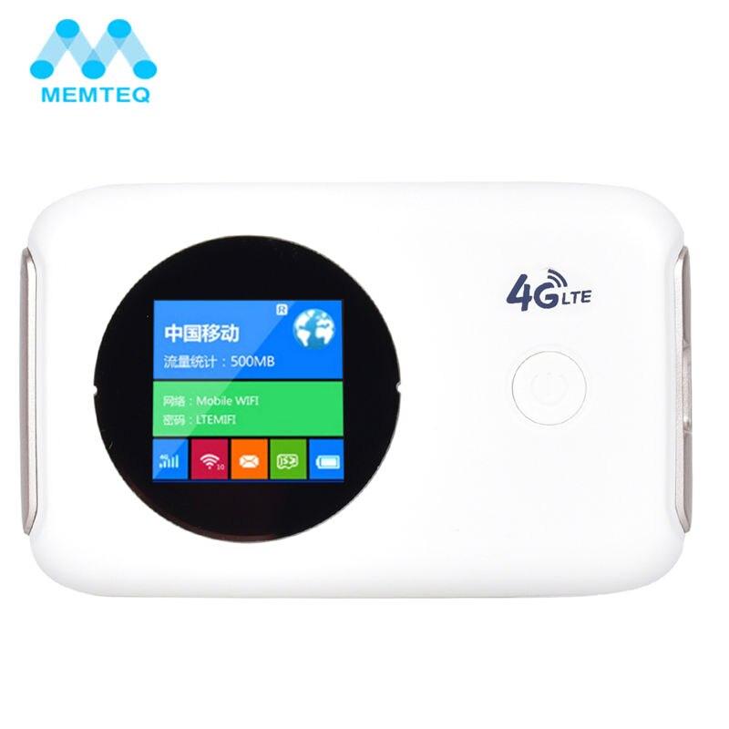 цена на MEMTEQ Wireless Router Mini Wifi Repeater wi-fi 802.11 b/g/n 150Mbps 3G 4G Router Car Mobile With Sim Card Slot Unlocked Modem