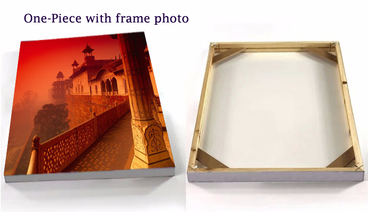 retail and wholesale custom easy diy harmless environmental wood frame for poster print and art painting