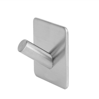 New 304 Stainless Steel 3M Self Adhesive Hook Hat Key Rack Bathroom Kitchen Towel Hanger Wall Mount Stick On Sticky Hanger фото