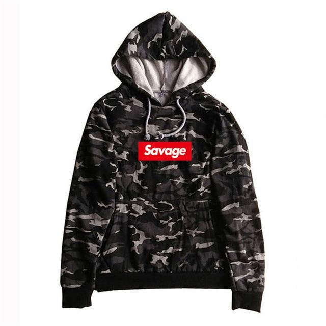 2017 100% хлопок 21 Savage Street Wear woolcotton SUPREM Толстовки пародия нет сердца x Savage свитер с капюшоном Для мужчин Для женщин хип-хоп