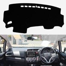 Per Honda Fit Jazz 2014-2018 Auto Dashboard Copertura Zerbino Pad Anti-Uv Styling Parasole Dash Zerbino Strumento di Auto Tappeto accessori RHD