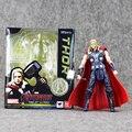Grande 16 cm S. H. Figuarts THOR da Marvel Avengers Age of Ultron Ação PVC Toy Figura Colecção