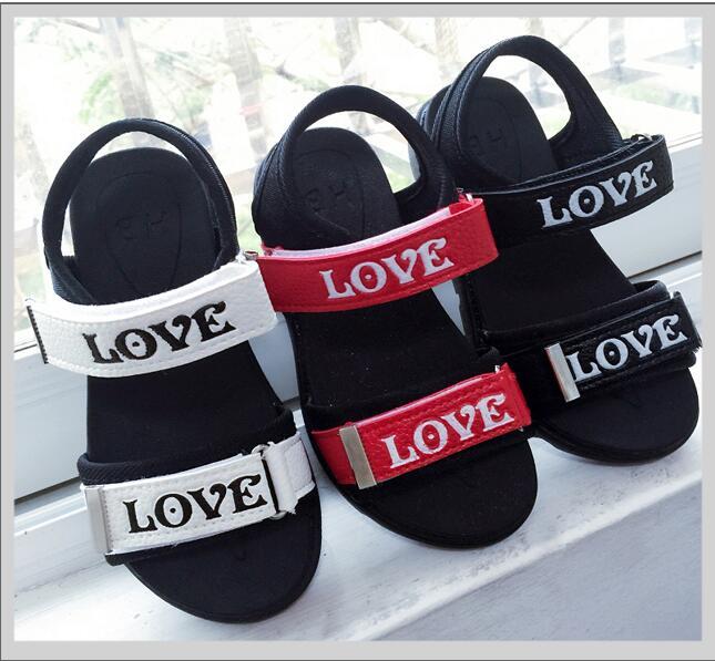 Children's Sandals 2018 New Men's Sandals Korean Version Of The Big Children  Students Baby Princess Shoes Beach Shoes Tide