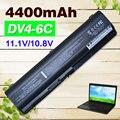 4400mAh laptop Battery for HP Pavilion DV4 DV5 DV6 G71 G50 G60 G61 G70 HSTNN-IB72 HSTNN-LB72 HSTNN-LB73 HSTNN-UB72 HSTNN-UB73