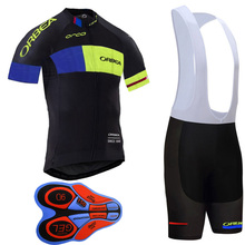 Cycling Jersey ORBEA bike Bib Shorts set MTB bicycle sportwear men breathable cycle clothing summer maillot ropa ciclismo I12