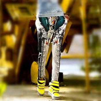 Harem Free Style Black Pants 1