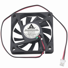 Free Shipping Durable 5pcs/lot  GDT 24V 2pin 60mm 6010S Axial Fan x 10mm dc 24v fan