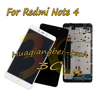 5.5'' For Xiaomi Hongmi Note 4 / Red Rise Note 4 Full LCD DIsplay +Touch Screen Digitizer Assembly+Frame For Xiaomi Redmi Note 4