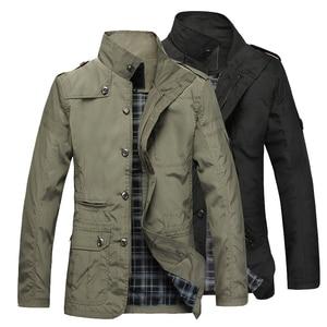 Image 3 - NaranjaSabor Fashion Thin Mens Jackets Hot Sell Casual Wear Comfort Windbreaker Autumn Overcoat Necessary Spring Men Coat N483
