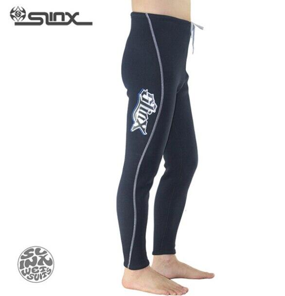 SLINX 1309 3mm Néoprène Hommes Polaire Doublure Pantalons Chauds Plongée sous-marine Pantalon Chasse Sous-Marine Triathlon Snorkeling Maillots De Bain Combinaison