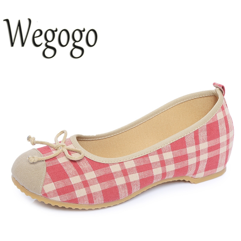 Women Shoes Cotton Flats Slip On Casual Shoes Comfortable Round Toe Student Flat Shoes Woman Female Flats Ladies Shoes