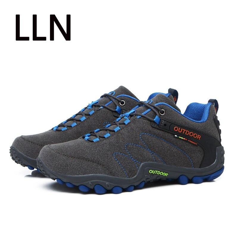 bb83e9a0 2019 zapatillas de deporte Zapatos de senderismo zapatos de los hombres al  aire libre pesca zapatos de Trekking impermeable turismo Camping deportes  caza ...