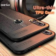 ONEVAN business leather Phone Case For iPhoneXS MAX XR  8 7 6 s Plus 5 5S SE all-inclusive anti-fall cover TPU Cases