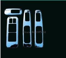 4 шт хромированный подлокотник для nissan qashqai dualis 2007