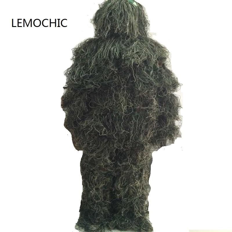 LEMOCHIC désert forêt camouflage ghillie costume snowfield tactique militaire forces spéciales vêtements bionique combat chasse uniforme