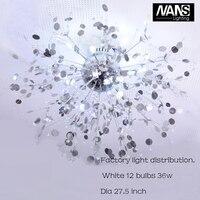 NANS Moderne G4 LED Crystal Plafondlampen woondecoratie Voor Woonkamer luminarias Plafondlamp Armatuur Voor Slaapkamer Lamp