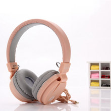 Fashion Cute Earphones headphone headset Candy Color Childre